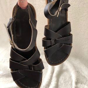 Dark brown Saltwater Sandals